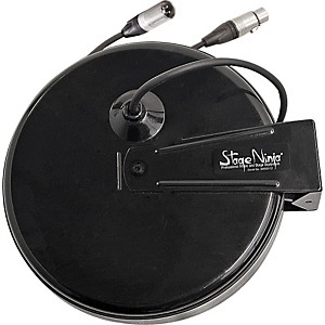 Stage Ninja Stage Ninja Retractable XLR Cable Powered Speaker Set-Up