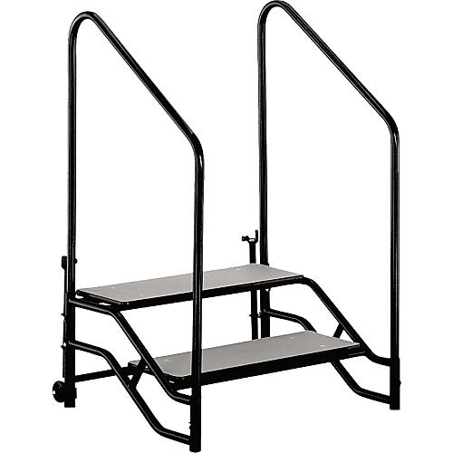 Midwest Folding Products Stage & Seated Risers Steps For 16 in.-24 in. High, 2 Steps-thumbnail