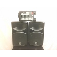 used yamaha pa speakers guitar center. Black Bedroom Furniture Sets. Home Design Ideas