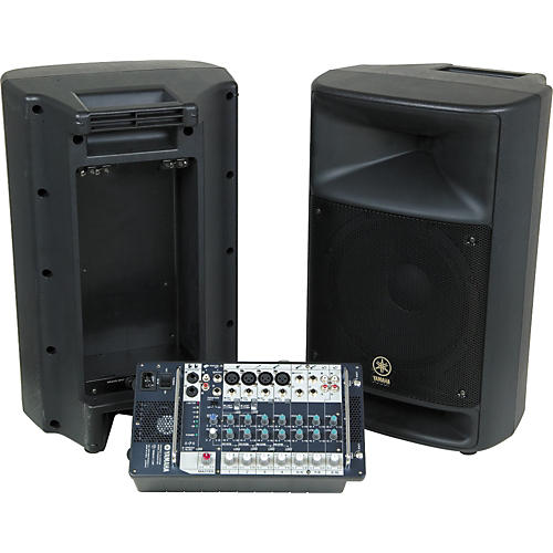 yamaha stagepas 500 portable pa system guitar center. Black Bedroom Furniture Sets. Home Design Ideas