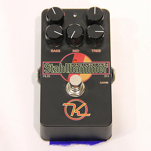 Keeley Stahlhammer Distortion Effect Pedal