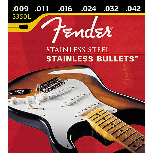 Fender Stainless Bullets 3350L Light Electric Guitar Strings