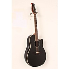 Standard Balladeer 2751 AX 12-String Acoustic-Electric Guitar Level 2 Black 888366044858