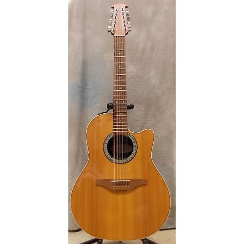 used ovation standard balladeer 6751 12 string acoustic electric guitar guitar center. Black Bedroom Furniture Sets. Home Design Ideas