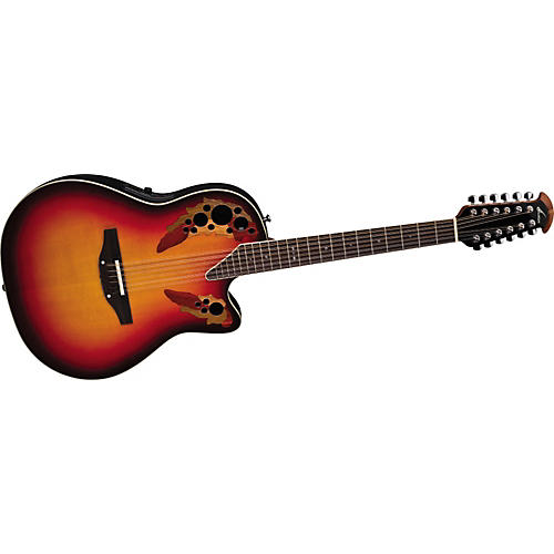 Ovation Standard Elite 2758 AX 12-String Acoustic-Electric Guitar with Hardshell Case