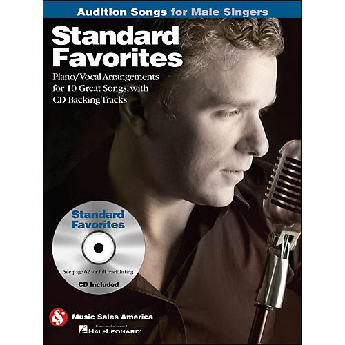 Hal Leonard Standard Favorites - Audition Songs for Male Singers Book/CD-thumbnail