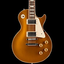 Gibson Custom Standard Historic 1957 Les Paul Goldtop Reissue Gloss Electric Guitar Antique Gold