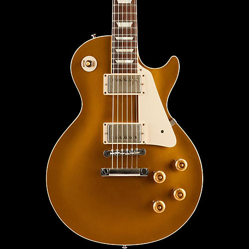 Gibson Custom Standard Historic 1957 Les Paul Goldtop Reissue VOS Electric Guitar-thumbnail