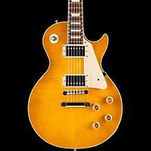 Standard Historic 1958 Les Paul Plaintop Reissue Gloss Electric Guitar Lemon Burst
