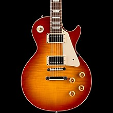 Standard Historic 1958 Les Paul Plaintop Reissue Gloss Electric Guitar Washed Cherry