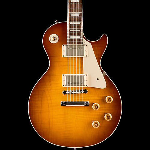 Gibson Custom Standard Historic 1958 Les Paul Plaintop Reissue VOS Electric Guitar-thumbnail