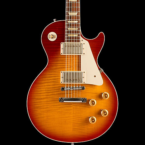 Gibson Custom Standard Historic 1959 Les Paul Reissue Lightly Aged Electric Guitar Washed Cherry