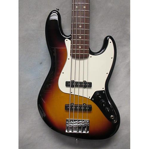 Fender Standard Jazz Bass 5-String 3 Color Sunburst Electric Bass Guitar 3 Color Sunburst