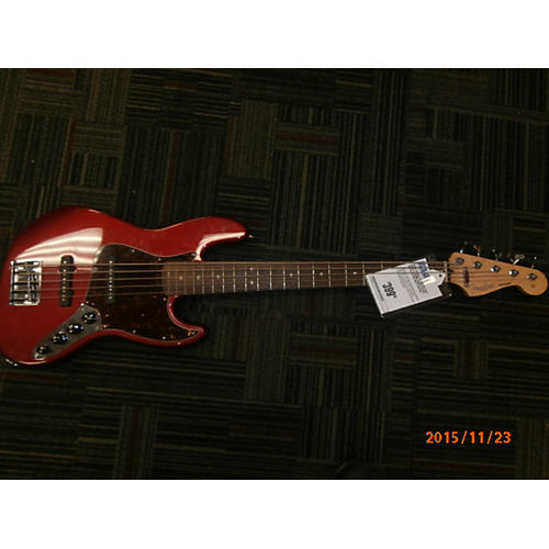 Fender Standard Jazz Bass 5-String Electric Bass Guitar-thumbnail