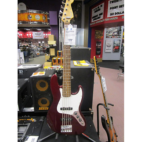Fender Standard Jazz Bass 5-String Electric Bass Guitar