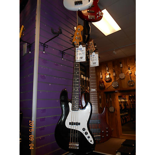 Fender Standard Jazz Bass Black Electric Bass Guitar