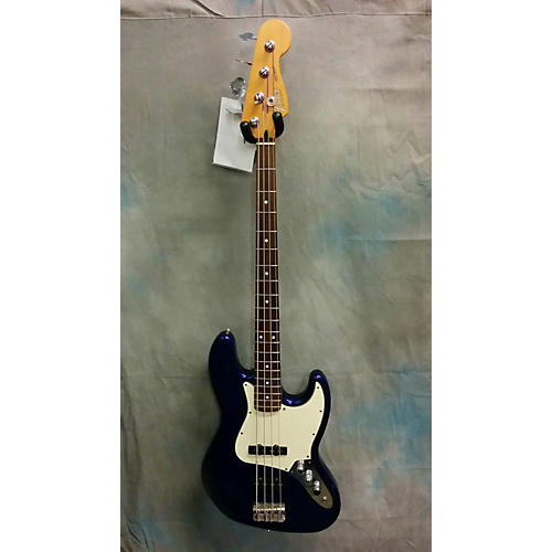 Fender Standard Jazz Bass Blue Electric Bass Guitar