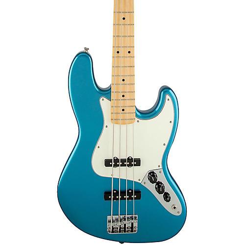 Fender Standard Jazz Bass Guitar Lake Placid Blue Gloss Maple Fretboard