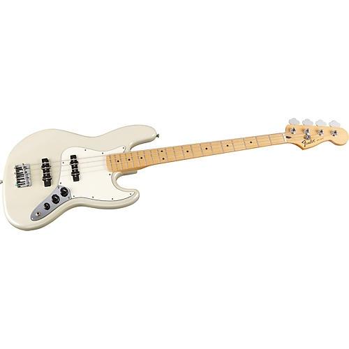 Fender Standard Jazz Bass Guitar with Maple Fretboard