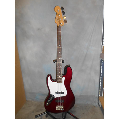 Fender Standard Jazz Bass Left Handed Electric Bass Guitar-thumbnail