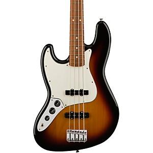 Fender Standard Jazz Bass Left Handed Pau Ferro Fingerboard by Fender