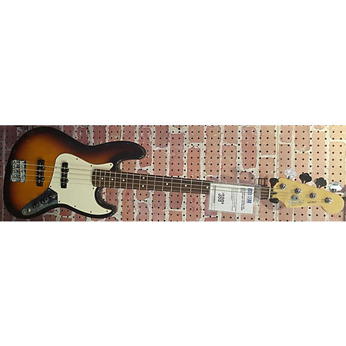 Fender Standard Jazz Bass Sunburst Electric Bass Guitar-thumbnail