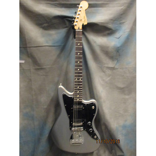 Fender Standard Jazzmaster HH Solid Body Electric Guitar Ghost Silver