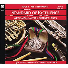 KJOS Standard Of Excellence Book 1 Accompaniment CD (2-CD Set)