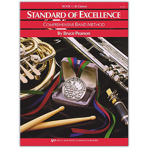 KJOS Standard Of Excellence Book 1 Clarinet-thumbnail