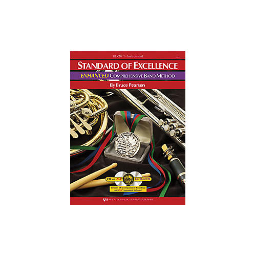KJOS Standard Of Excellence Book 1 Enhanced Bass Clarinet-thumbnail