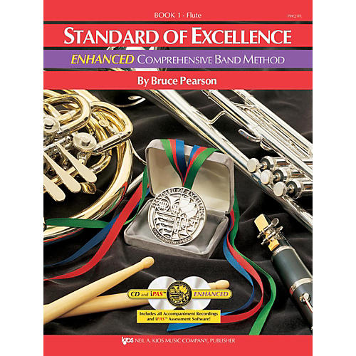 KJOS Standard Of Excellence Book 1 Enhanced Flute-thumbnail