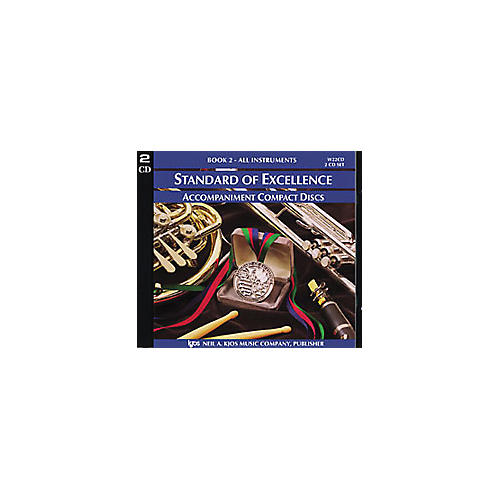 KJOS Standard Of Excellence Book 2 Accompaniment 2-CD Set-thumbnail