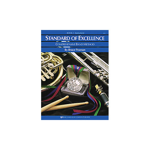 KJOS Standard Of Excellence Book 2 Alto Sax-thumbnail
