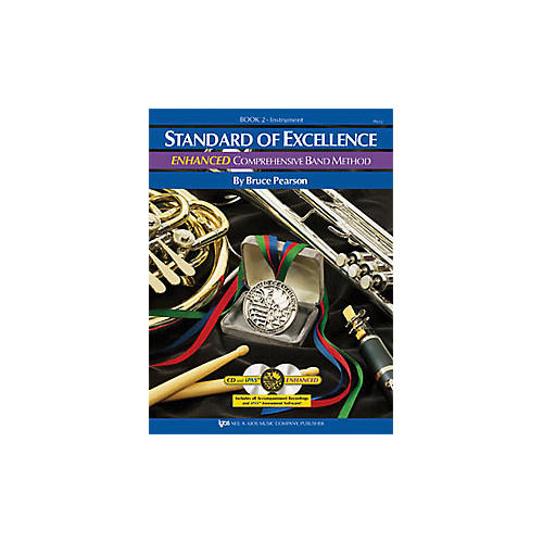 KJOS Standard Of Excellence Book 2 Enhanced Bass Clarinet-thumbnail