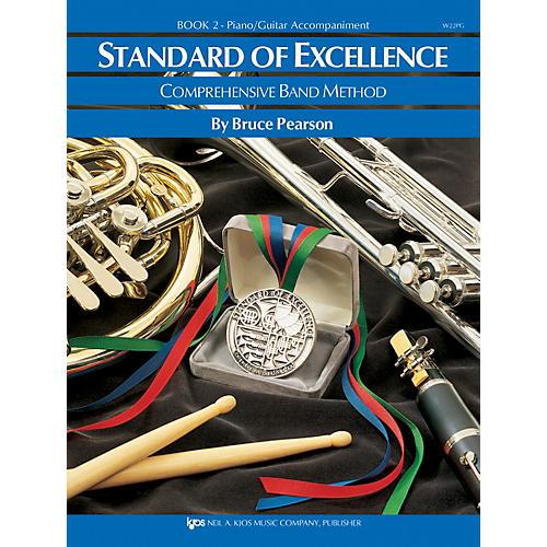 KJOS Standard Of Excellence Book 2 Enhanced Piano/Guitar Accomp