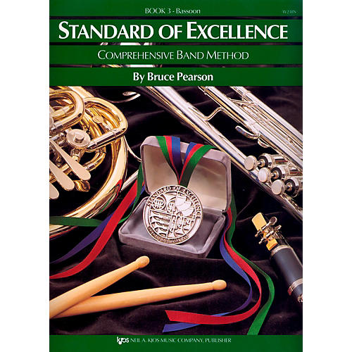 KJOS Standard Of Excellence Book 3 Bassoon-thumbnail