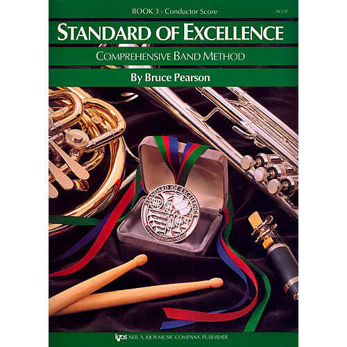 KJOS Standard Of Excellence Book 3 Conductor Score-thumbnail