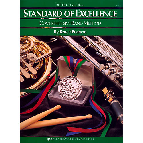 KJOS Standard Of Excellence Book 3 Electric Bass-thumbnail