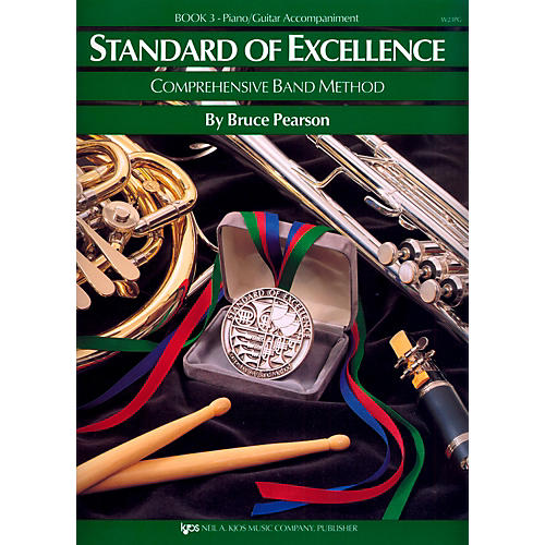 KJOS Standard Of Excellence Book 3 Piano/Guitar Accomp-thumbnail