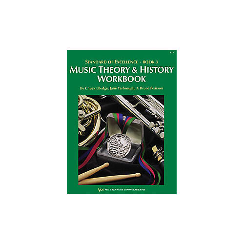 KJOS Standard Of Excellence Book 3 Theory & History Student Edition-thumbnail