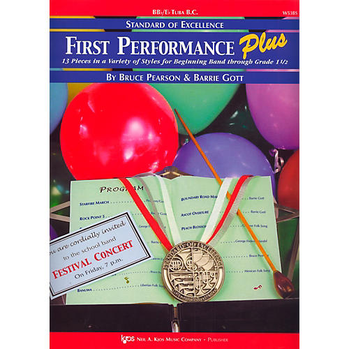 KJOS Standard Of Excellence First Performance Plus-BB/EB TUBA BC-thumbnail
