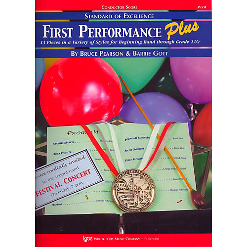 KJOS Standard Of Excellence First Performance Plus-COND SCORE-thumbnail