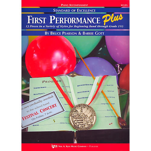 KJOS Standard Of Excellence First Performance Plus-PIANO ACCOMP-thumbnail