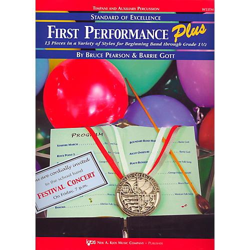 KJOS Standard Of Excellence First Performance Plus-TIMP & AUX PR-thumbnail