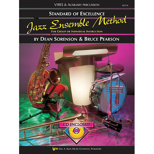 KJOS Standard Of Excellence for Jazz Ensemble Vibes /Aux Percussion-thumbnail