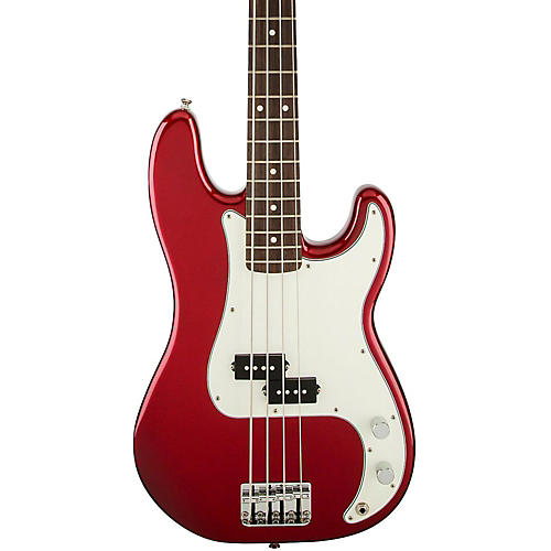 Fender Standard Precision Bass Guitar Candy Apple Red Rosewood Fretboard