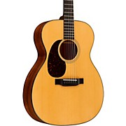 Martin Standard Series 000-18 Left-Handed Auditorium Acoustic Guitar