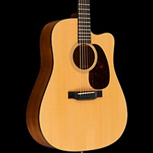 Martin Standard Series DC-18E Dreadnought Acoustic-Electric Guitar Natural