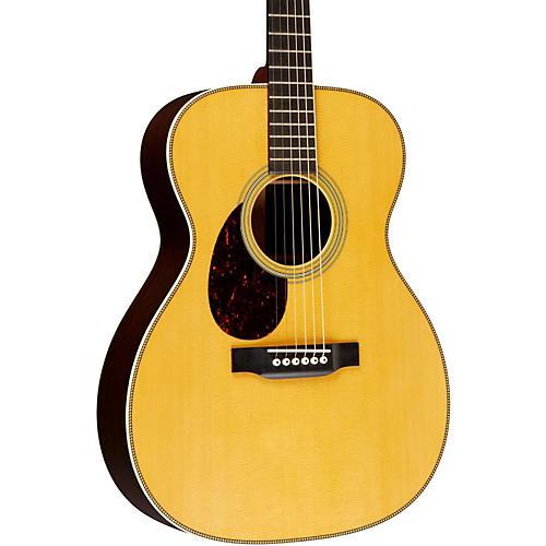 Martin Standard Series OM-28 Left-Handed Orchestra Model Acoustic Guitar