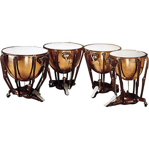 Ludwig Standard Series Polished Timpani Set Of 4 Concert Drums